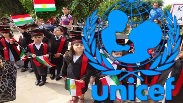 UNICEF'ten Kürdistan'a 800 bin dolar