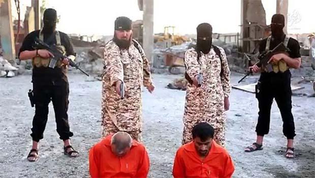 IŞİD'den korkunç infaz! Cellad ve kurban öz kardeş