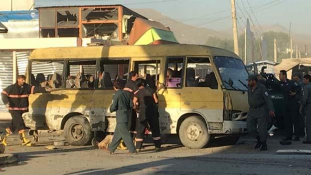 Taliban'dan Kabil'de intihar saldırısı: 14 ölü