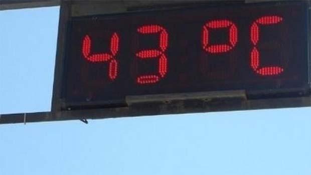 Kürt ili yanıyor... 43 derece!