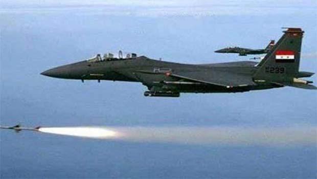 Suriye'de savaş uçağı düştü, pilotu esir alındı