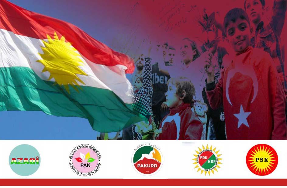Kürdistani Partilerden Suriyeli Mülteciler açıklaması