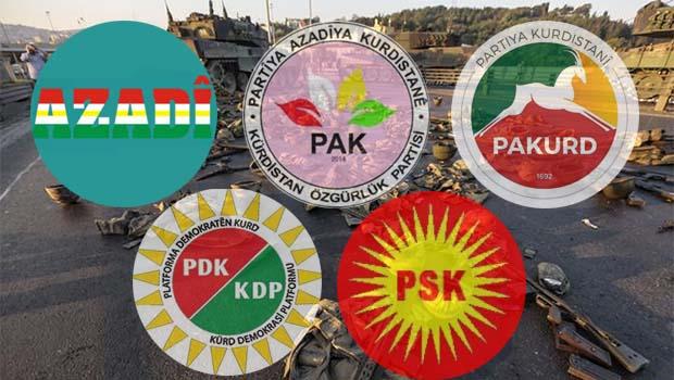 Kurdistani Partiler: Şerden hayır çıkarmanın tam zamanıdır