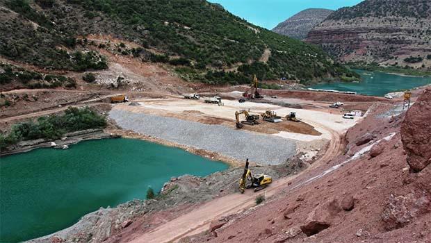 Silvan Barajı'na roketli saldırı!