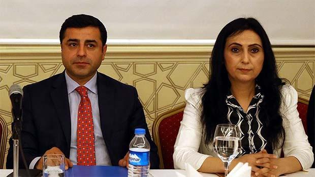 Demirtaş'a 5, Yüksekdağ'a 2 yıl hapis istemi