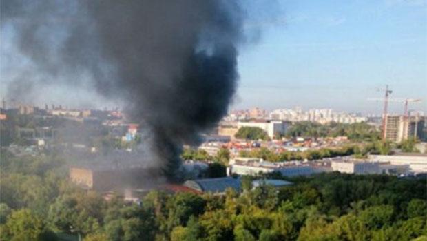 Moskova'da yangın: Çok sayıda ölü var