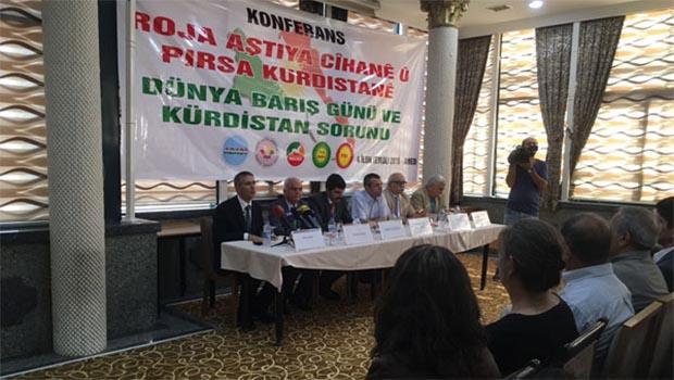 Kürdistani Partiler'den Türkiye ve PKK'ye barış çağrısı