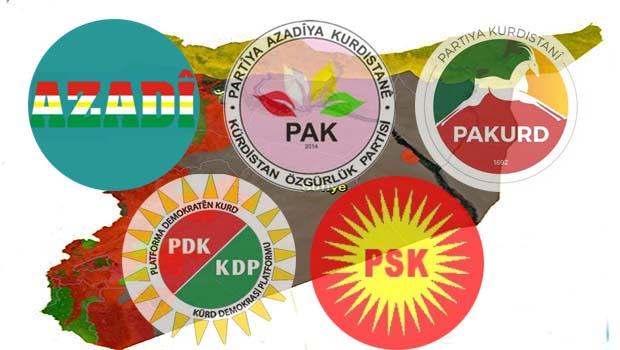 Kürdistani Partiler: TSK, Rojava Kürdistanı'ndan Çekilmelidir