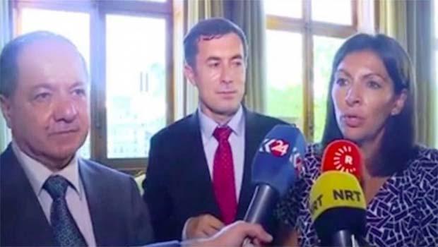 Paris Belediye Başkanı: Kürdlere her türlü desteği vermeye hazırız