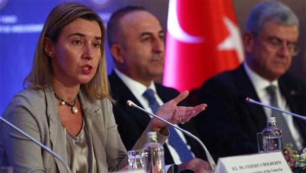 Mogherini: PKK'yle mücadelede siyasi süreç başlatılmalı