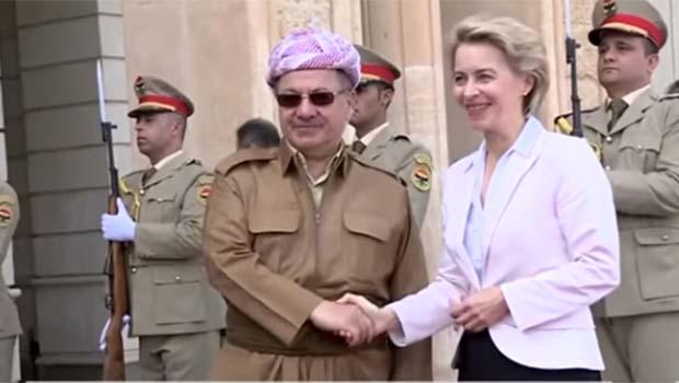 Barzani: Almanya'nın Kürdistan'a desteği savaşta dengeleri değiştirdi