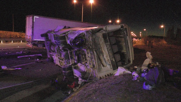 Mardin-Urfa yolunda kaza: 31 yaralı