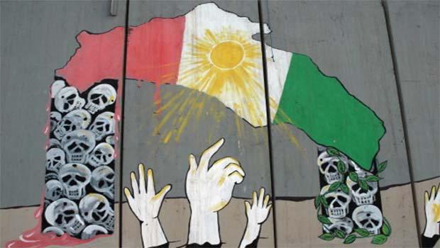 Uluslararası toplum, müttefiklerinin Kürt kamburunu taşımak istemiyor