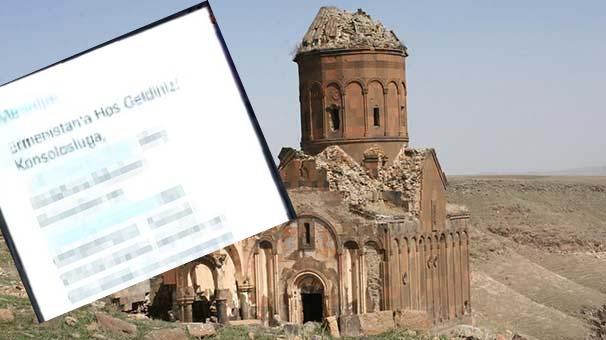 Tarihi Kürt bölgesinde 'Ermenistan'a Hoşgeldiniz' mesajı!
