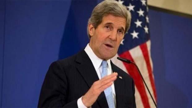 Kerry: Suriye halkından ve barıştan vazgeçmiyoruz