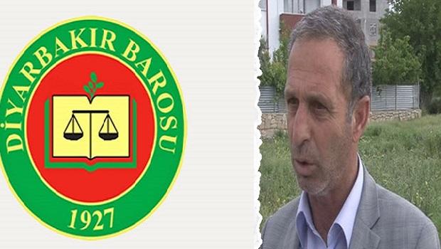 Diyarbakır Barosu'ndan öldürülen AKP'li Başkan hakkında açıklama