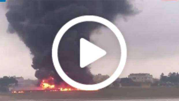 AB sınır yetkililerini taşıyan uçak düştü; 5 ölü