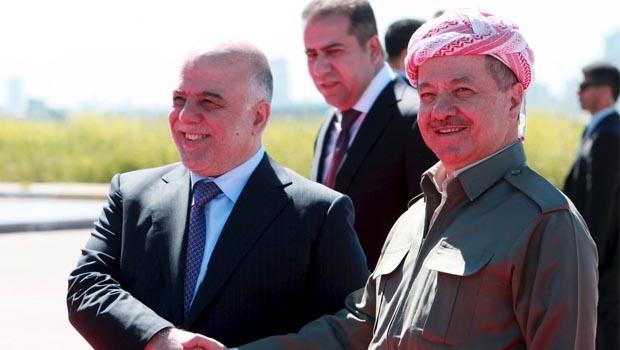 Barzani ile İbadi arasında sürpriz görüşme