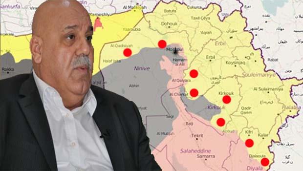 Peşmergeden nokta: Tartışmalı bölgeler Kürdistan'a bağlanacak