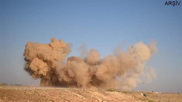 Haseke'deki askeri kampta patlama