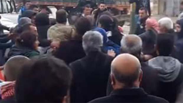 Kamışlo'da ENKS göstericilerine saldırı
