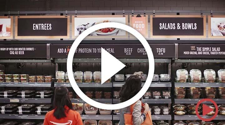 Amazon'dan kasasız, kuyruksuz yeni nesil market