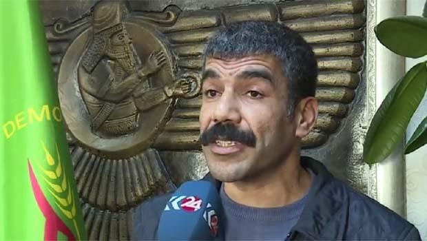 DBP'den Kurdistan Bayrağı'na yapılan saldırıya kınama