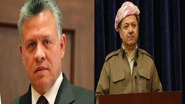 Şah Abdullah'tan Başkan Barzani'ye başsağlığı mesajı