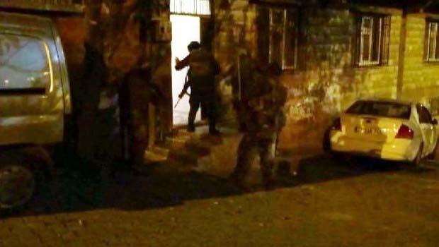 Antep'te 36 gözaltı
