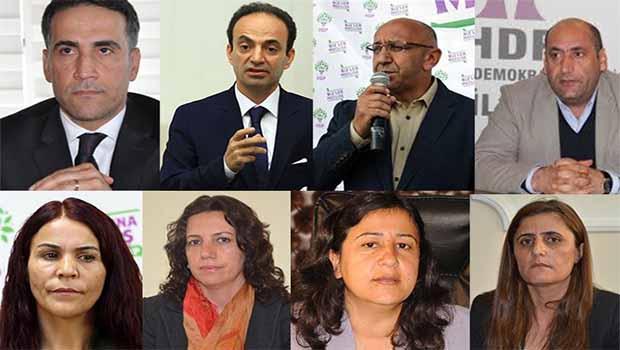 HDP'li vekiller için zorla getirme kararı
