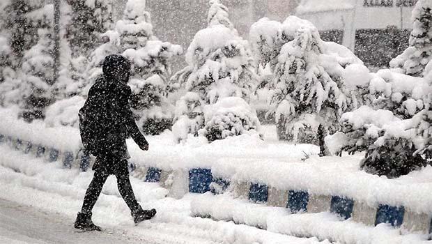 Kürt illerinde kar tatili