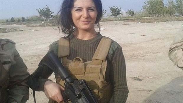 IŞİD'e karşı savaşan Doğu Kürdistanlı kadın The Guardian sayfalarında