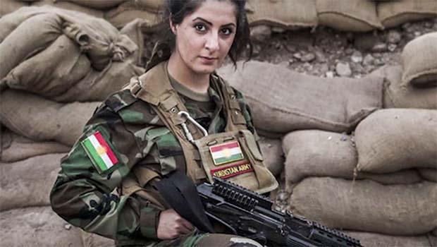 IŞİD'e karşı savaşan Kürt kızı Palani, hapse atıldı