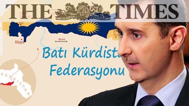 Times: Erdoğan'ın önceliği Esad değil, Kürtler