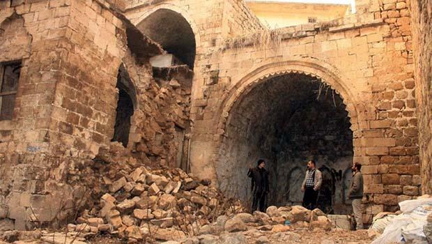 Mardin'de tarihi çöküntü