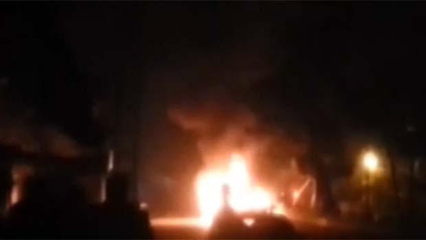 Kamışlo'da patlama