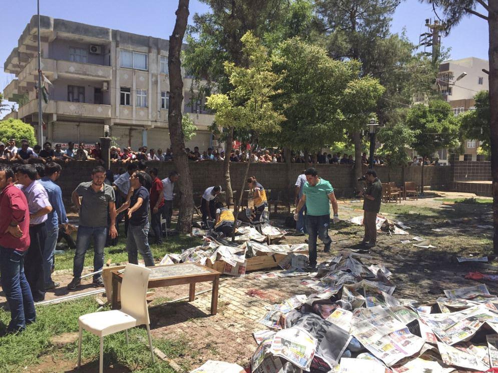 Patlama Olayında Suruç polis müdürüne taksitle 7500 lira para cezası