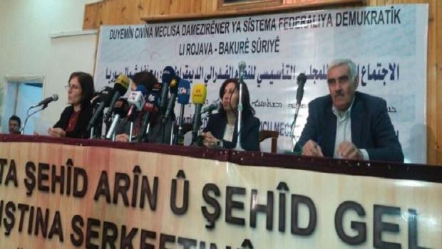 Kuzey Suriye Federal Sistem Konseyi: Astana bizi bağlamaz