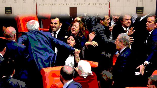 Sanki Kürt Anayasasını tartışıyorlar...
