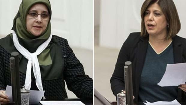Gözaltına alınan HDP'li vekiller Hüda Kaya ve Meral Danış Beştaş serbest