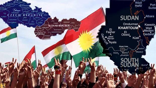 Güney Kürdistan'ın bağımsızlığında iki örnek