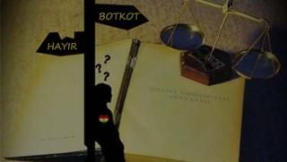 Kürtlerde 'Hayır' ve 'Boykot'