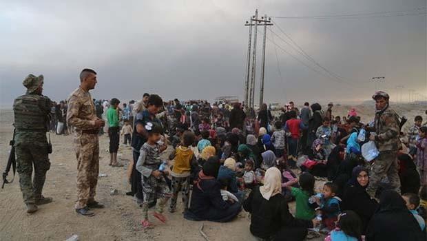 BM: İHA'lar, Musul'a yardımı engelliyor