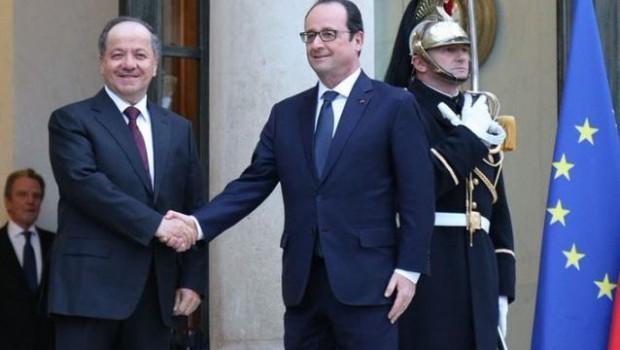 Hollande: Kürdistan'ı desteklemeye devam edeceğiz