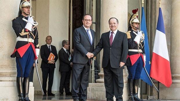Başkan Barzani ve Hollande görüşmesinin ayrıntıları