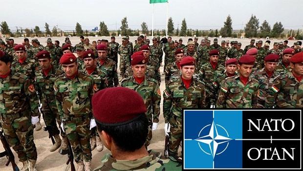 Roj Peşmergelerini NATO eğitiyor