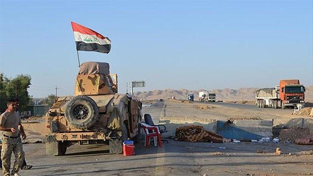 Kerkük ve Bağdat anayolu ulaşıma kapatıldı