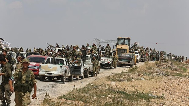 TSK ve Özgür Suriye Ordusu, Bab ilçe merkezini ele geçirdi
