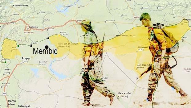 YPG: ÖSO Menbiç'e saldırırsa, Rakka'dan vazgeçer, Menbiç'i savunuruz