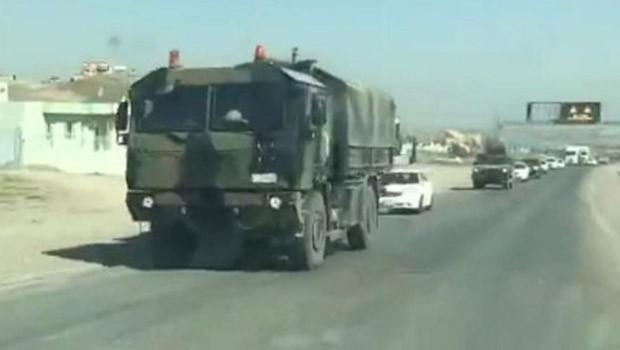 Başika'da askeri hareketlilik